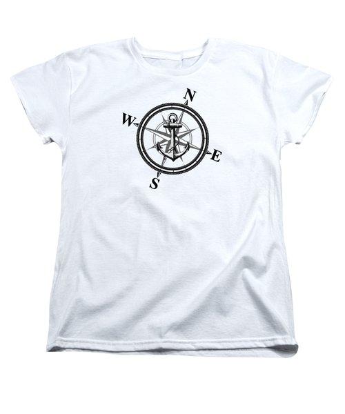 Nautica Bw Women's T-Shirt (Standard Fit)