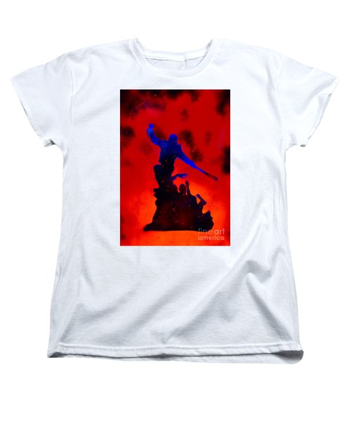 Negan Triumph  Women's T-Shirt (Standard Cut) by Justin Moore
