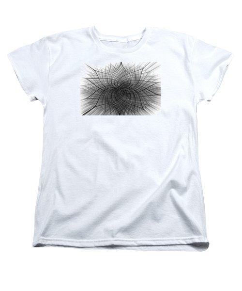 Women's T-Shirt (Standard Cut) featuring the digital art Negativity by Carolyn Marshall