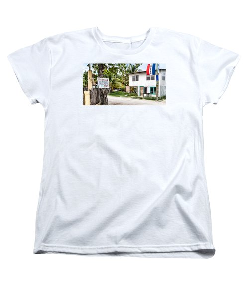 Women's T-Shirt (Standard Cut) featuring the photograph Neglected In Paradise by Lawrence Burry