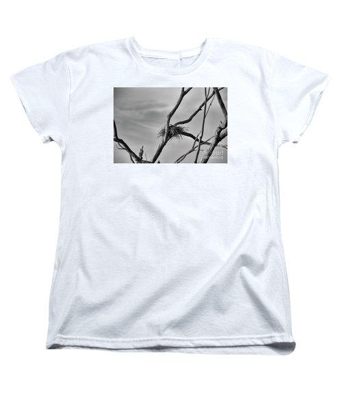 Women's T-Shirt (Standard Cut) featuring the photograph Nested by Douglas Barnard