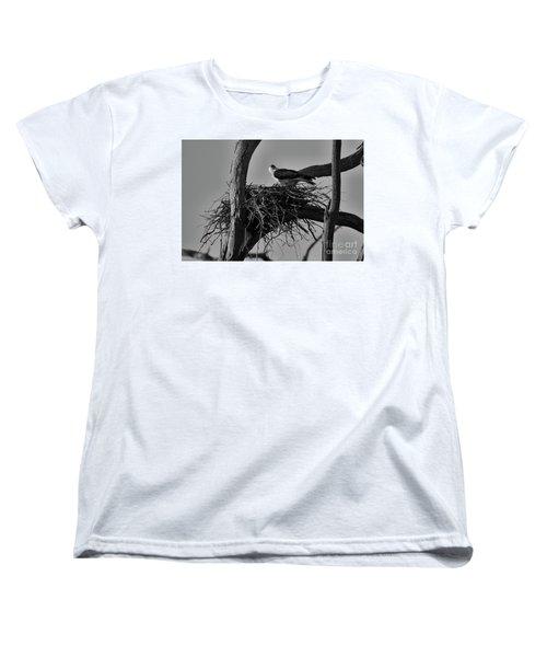 Women's T-Shirt (Standard Cut) featuring the photograph Nesting V2 by Douglas Barnard