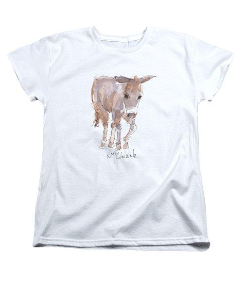 New Pasture Boss Women's T-Shirt (Standard Cut) by Kathleen McElwaine