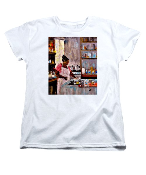 New Recipe.. Women's T-Shirt (Standard Cut) by Cristina Mihailescu