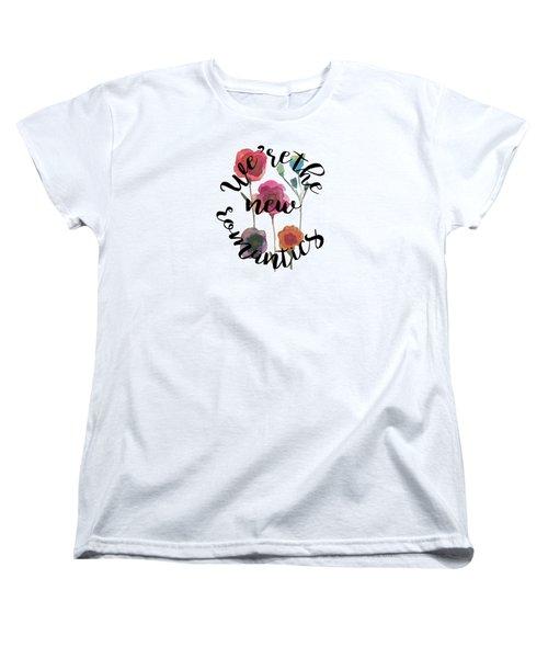New Romantics Women's T-Shirt (Standard Cut) by Patricia Abreu