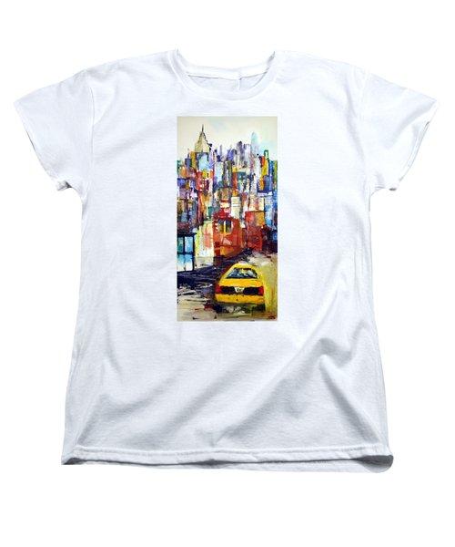 New York Cab Women's T-Shirt (Standard Cut)