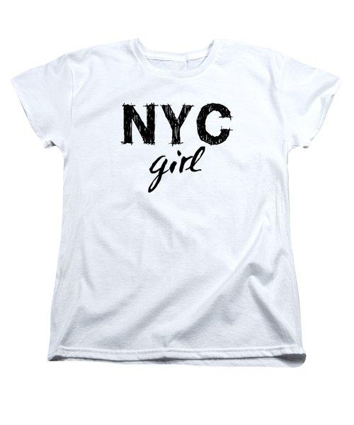 New York City Girl Women's T-Shirt (Standard Cut)