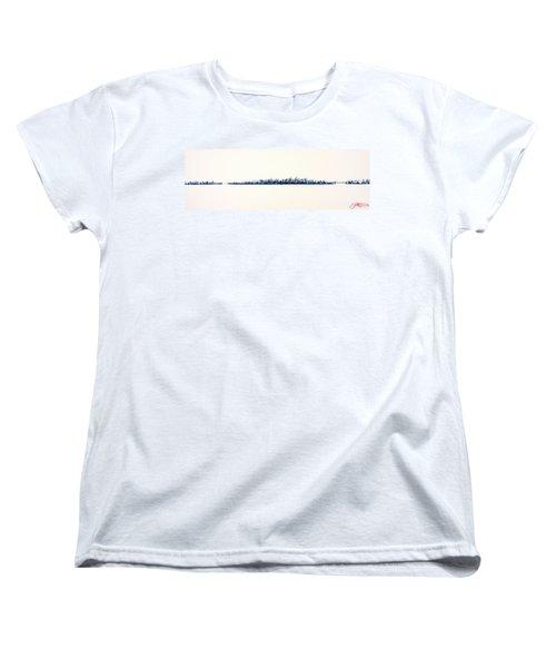New York City Skyline Women's T-Shirt (Standard Cut)