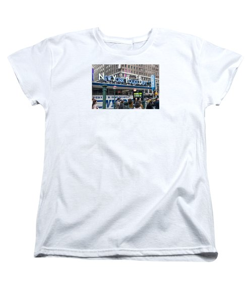 New York's Finest Women's T-Shirt (Standard Cut) by Allen Carroll