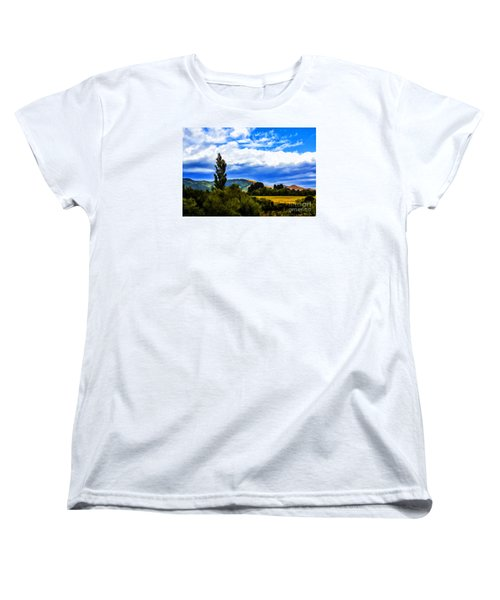 Women's T-Shirt (Standard Cut) featuring the photograph New Zealand Legacy by Rick Bragan