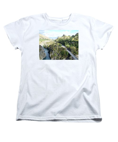 New Zealand Scene Women's T-Shirt (Standard Cut)