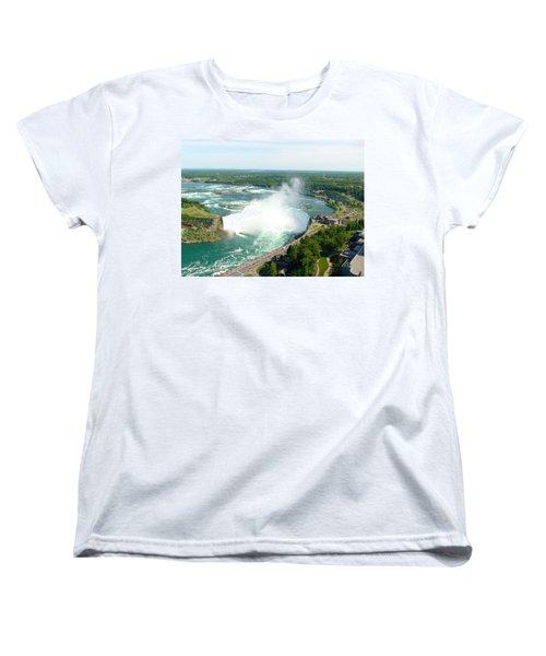 Niagara Falls Ontario Women's T-Shirt (Standard Cut) by Charles Kraus