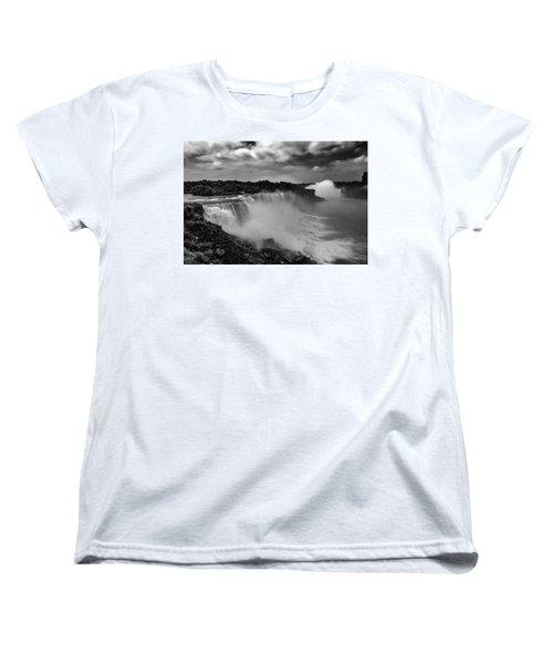 Women's T-Shirt (Standard Cut) featuring the photograph Niagra Falls by Jason Moynihan