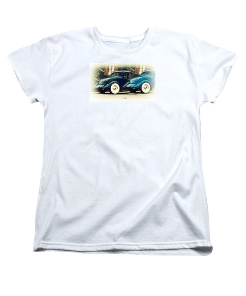 Women's T-Shirt (Standard Cut) featuring the photograph Nice Wheels by Chris Armytage