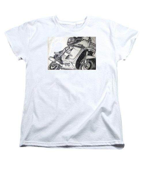 Ninja  Women's T-Shirt (Standard Cut) by Angela Murray