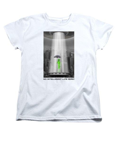 No Intelligent Life Here 2 Women's T-Shirt (Standard Cut)
