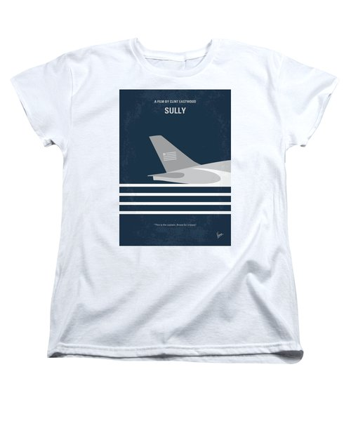 Women's T-Shirt (Standard Cut) featuring the digital art No754 My Sully Minimal Movie Poster by Chungkong Art