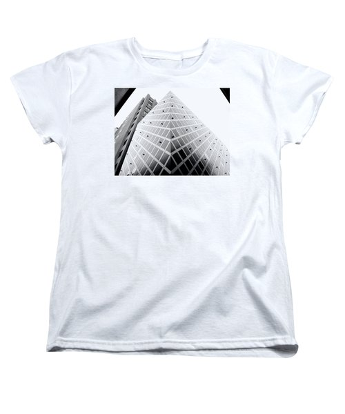 Women's T-Shirt (Standard Cut) featuring the photograph Non-pyramidal by Wayne Sherriff