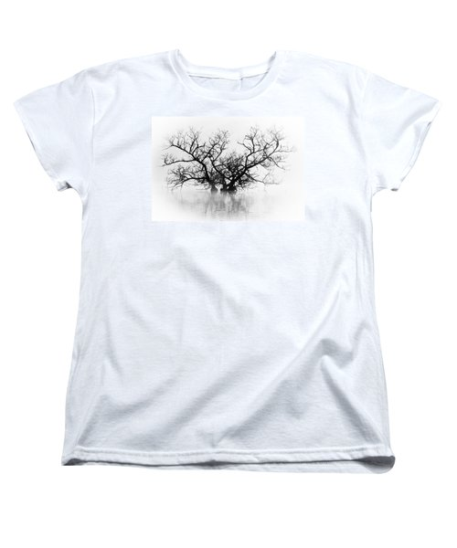 Norris Lake April 2015 5 Women's T-Shirt (Standard Cut) by Douglas Stucky