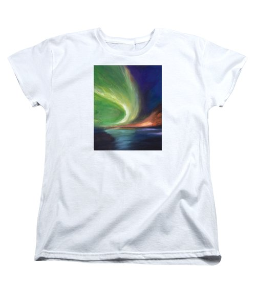 Northern Lights Women's T-Shirt (Standard Cut)
