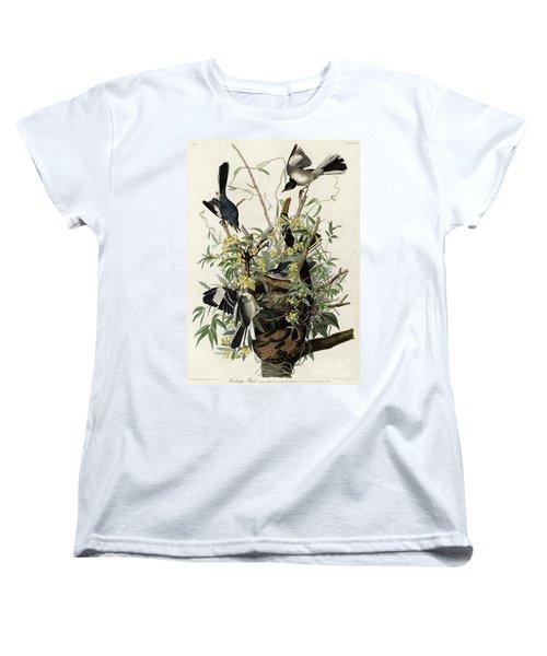 Northern Mockingbird Women's T-Shirt (Standard Cut) by Granger