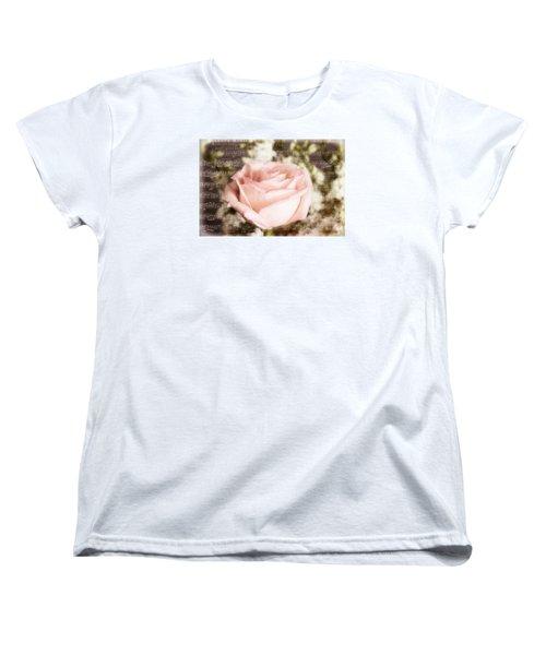 Notes Of Love Women's T-Shirt (Standard Cut) by Joan Bertucci