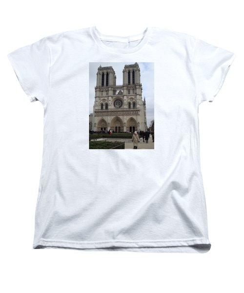 Notre Dame Women's T-Shirt (Standard Cut) by Roxy Rich