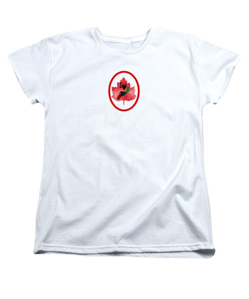 Nova Scotia Proud Women's T-Shirt (Standard Cut) by Kathleen Sartoris