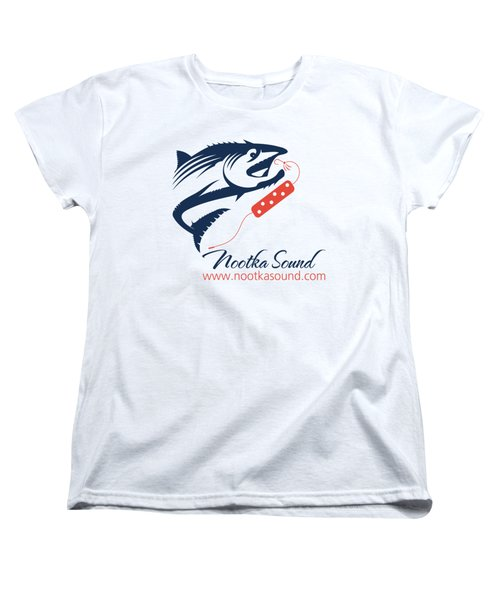 Ns Logo #3 Women's T-Shirt (Standard Cut) by Nootka Sound