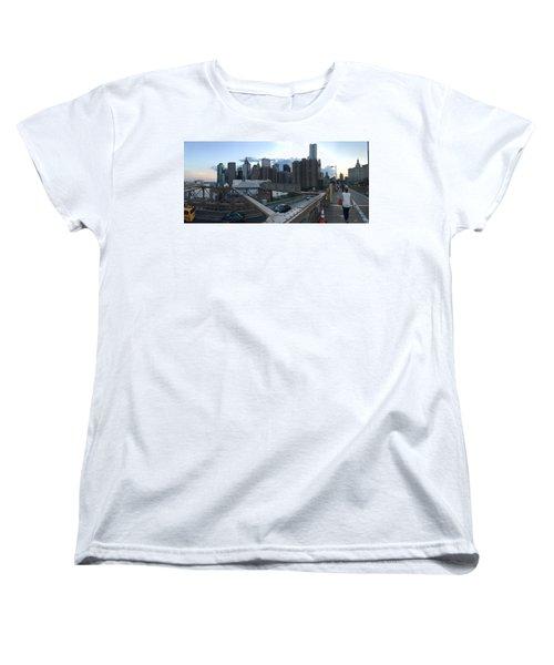 NYC Women's T-Shirt (Standard Cut) by Ashley Torres