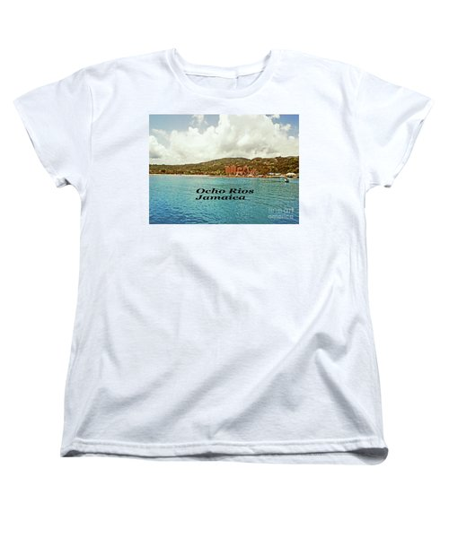 Women's T-Shirt (Standard Cut) featuring the photograph Ocho Rios Jamaica by Gary Wonning