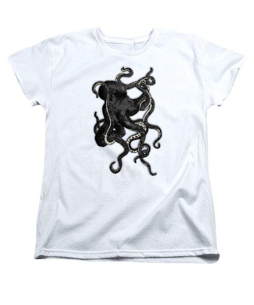 Octopus Women's T-Shirt (Standard Cut) by Nicklas Gustafsson
