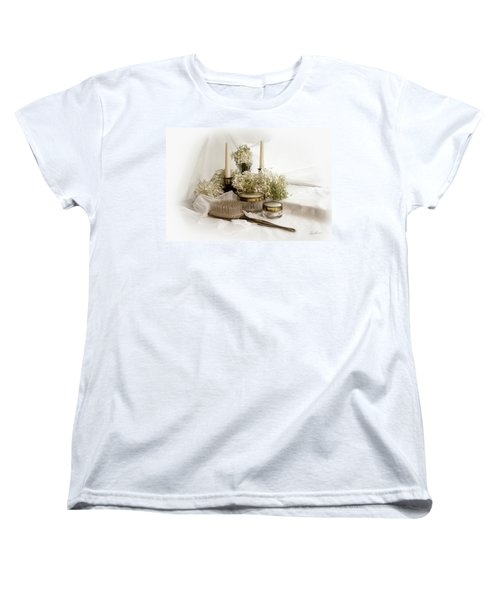 Women's T-Shirt (Standard Cut) featuring the photograph Of Days Past by Ann Lauwers