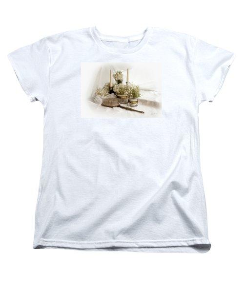 Of Days Past Women's T-Shirt (Standard Cut) by Ann Lauwers