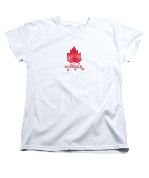 Oh Canada Women's T-Shirt (Standard Cut) by Kathleen Sartoris