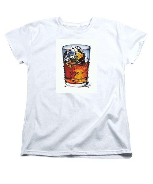 Oh My Gouache Women's T-Shirt (Standard Cut) by Cliff Spohn
