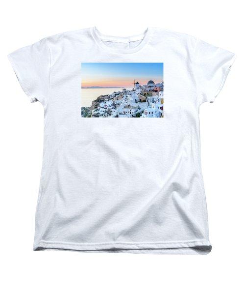 Oia, Santorini - Greec Women's T-Shirt (Standard Cut)