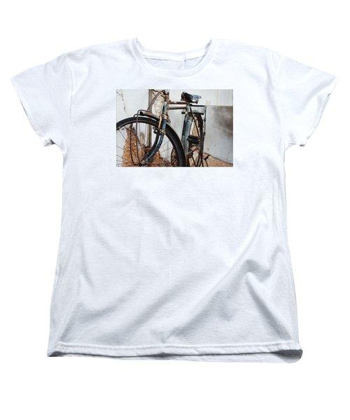 Old Bike II Women's T-Shirt (Standard Cut) by Robert Meanor