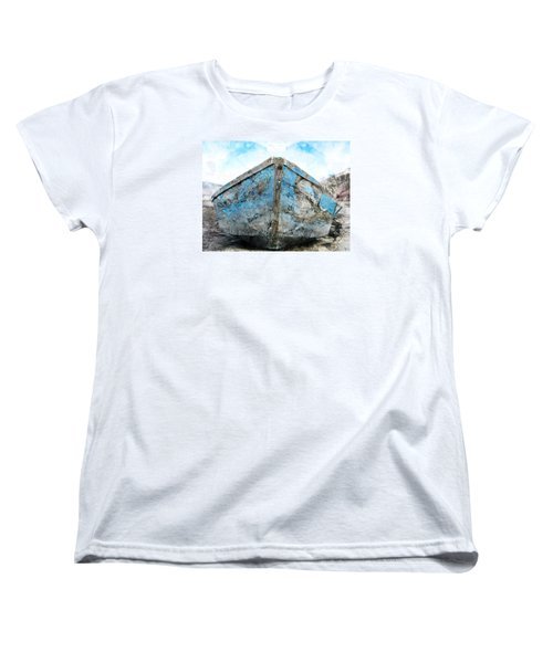 Old Blue # 2 Women's T-Shirt (Standard Cut) by Ed Hall