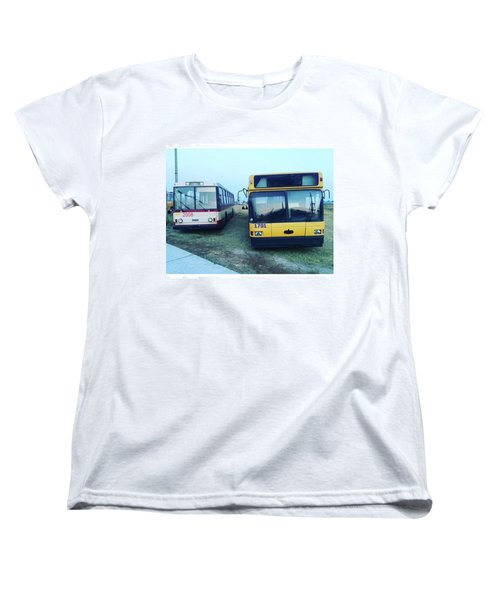 #old #bus #museum #oldcarfest2016 Women's T-Shirt (Standard Cut)