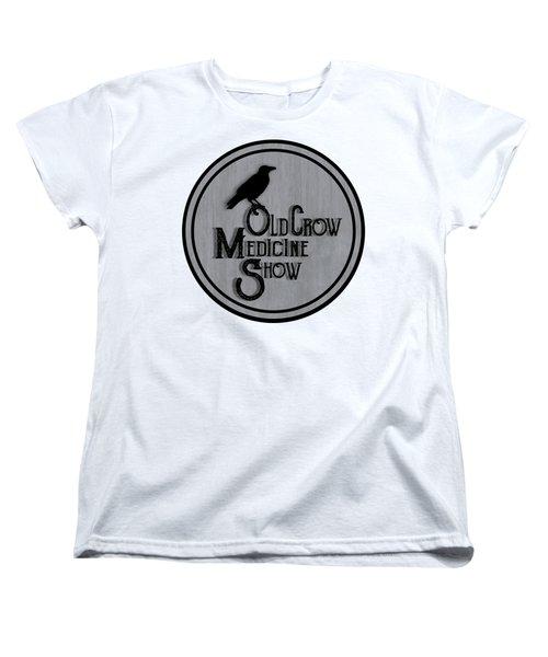 Old Crow Medicine Show Sign Women's T-Shirt (Standard Cut) by Little Bunny Sunshine