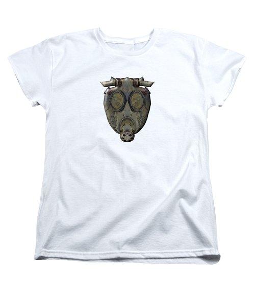Old Gas Mask Women's T-Shirt (Standard Cut) by Michal Boubin