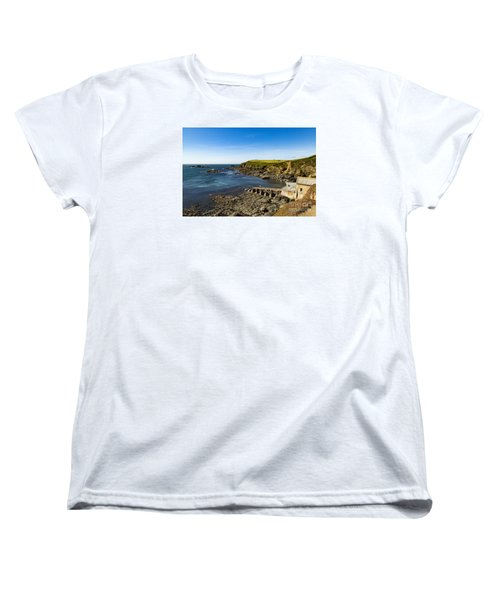 Women's T-Shirt (Standard Cut) featuring the photograph Old Life Boat Station by Brian Roscorla