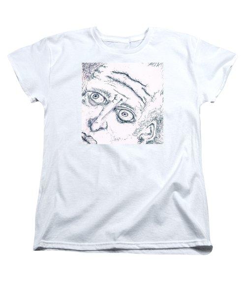 Old Man  Women's T-Shirt (Standard Cut) by Dan Twyman
