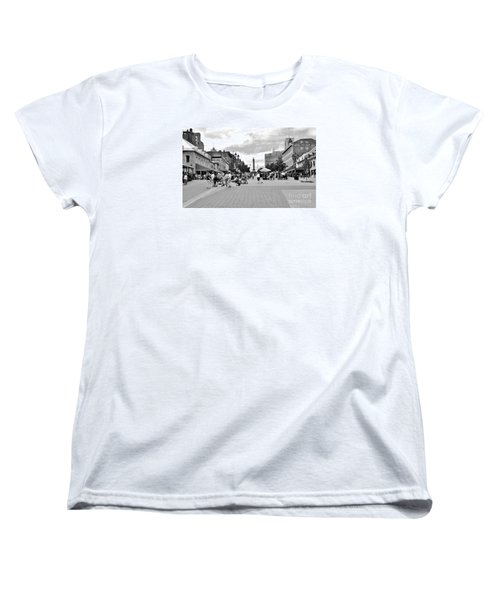 Old Montreal Jacques Cartier Square Women's T-Shirt (Standard Cut) by Reb Frost