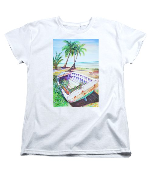 Old Paint Women's T-Shirt (Standard Cut) by Patricia Piffath