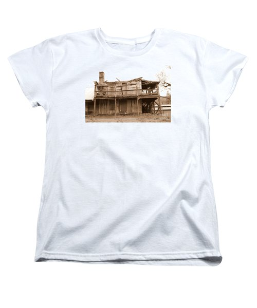 Old Stagecoach Stop Women's T-Shirt (Standard Cut) by Marie Neder