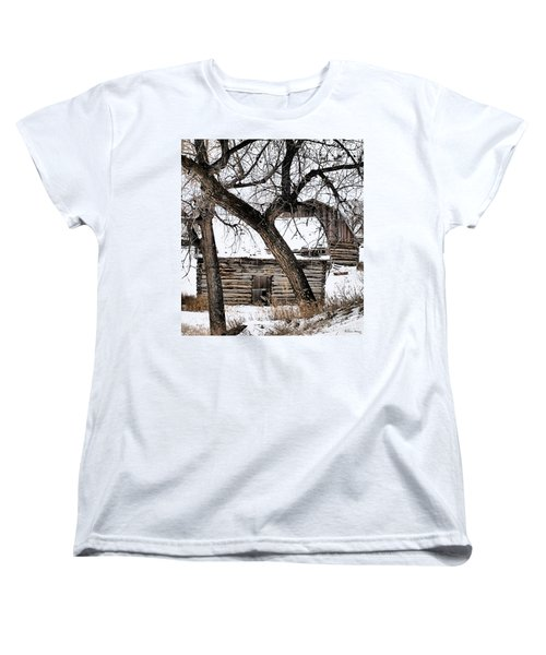 Old Ulm Barn Women's T-Shirt (Standard Cut)