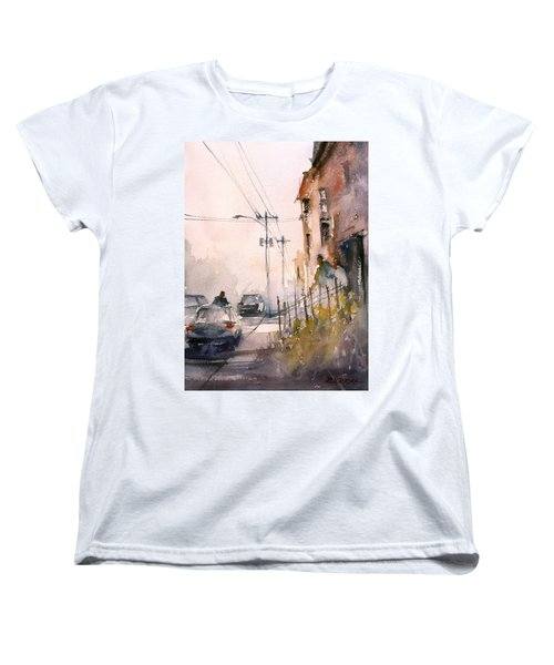 Old Wautoma Hotel Women's T-Shirt (Standard Cut) by Ryan Radke