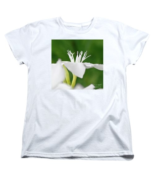 Women's T-Shirt (Standard Cut) featuring the photograph Oleander Ed Barr 2 by Wilhelm Hufnagl